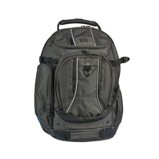 Ful Load Factor Black/Grey Padded 17-inch Laptop Backpack