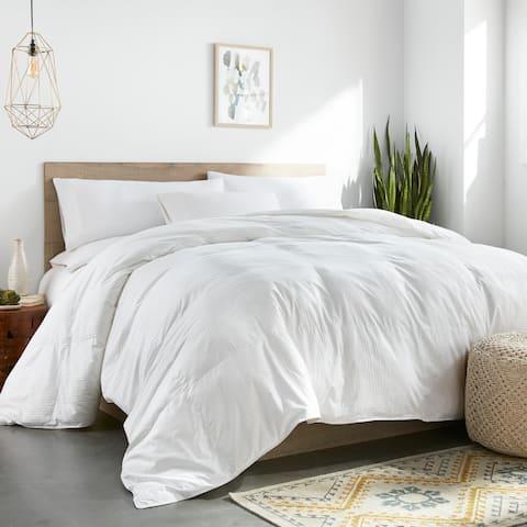 Colossal King Oversized Down Alternative All Season Baffle Box Comforter