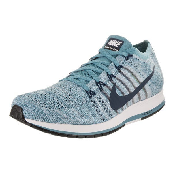Shop Nike Fabric Unisex Flyknit Blue Streak Fabric Nike Running Shoe - - 16739474 55604a