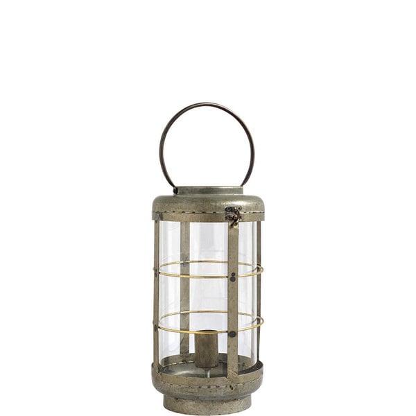 Mercana Alston I Grey Metal Table Lamp