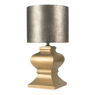 Mercana Trempo I Silver and Gold Metal Table Lamp