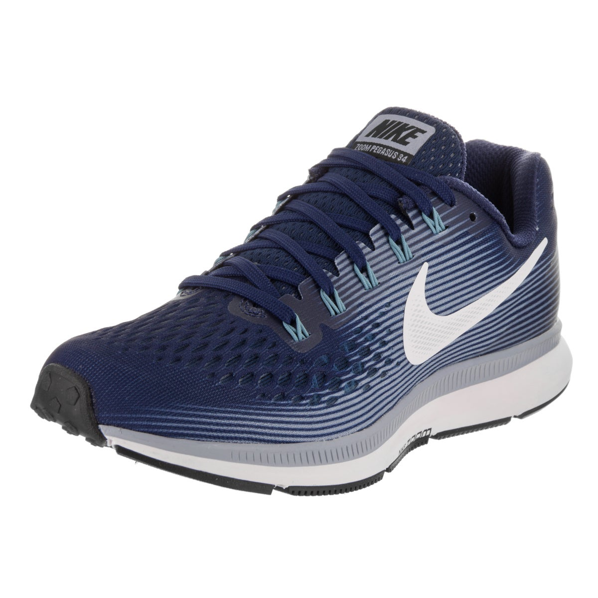 Nike Women's Air Zoom Pegasus 34 Running Shoe (6), Blue (...