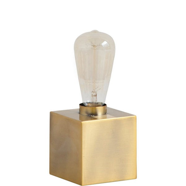 Mercana Visio II Goldtone Brass Metal Table Lamp
