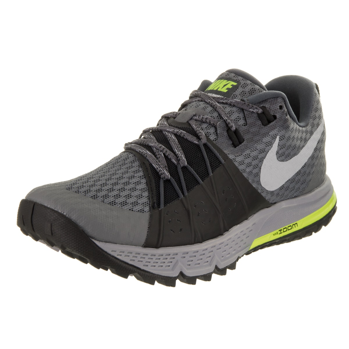 Nike Women's Air Zoom Wildhorse 4 Running Shoe (6.5), Gre...