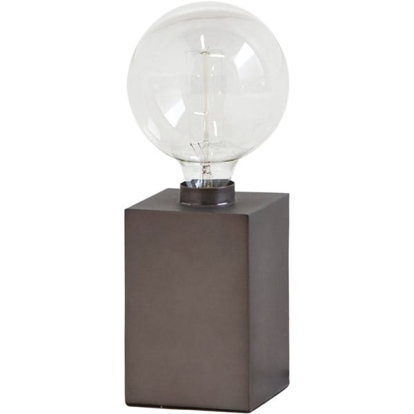 Mercana Notio III White Metal Table Lamp