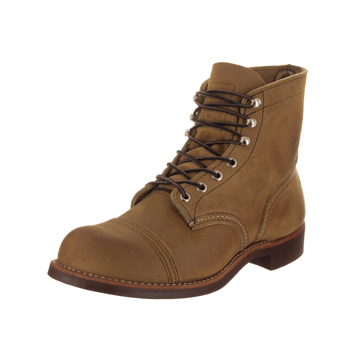 afbad568b Shop Red Wing Shoes Men's Iron Ranger Brown Leather Boot - Free Shipping  Today - Overstock - 16739536