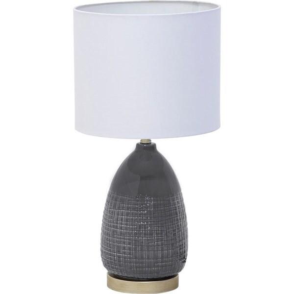 Mercana Camden White Ceramic Table Lamp