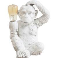 Mercana 'Simia' White Resin Table Lamp