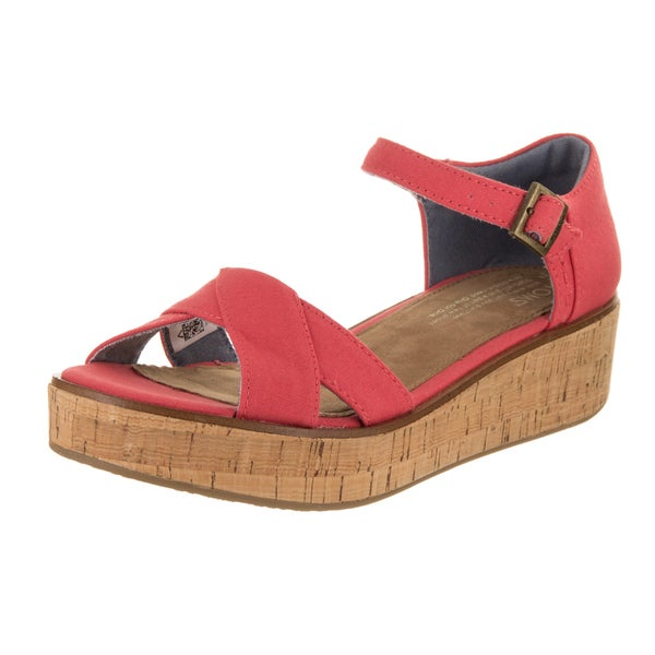 f722e43c6d7 ... Women s Shoes     Women s Sandals. Toms Women  x27 s Harper Wedge Sandal