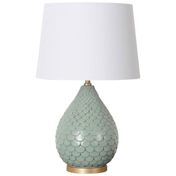 Mercana Bideford II Green Ceramic Table Lamp