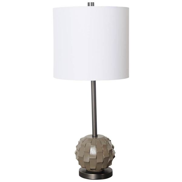 Mercana Brant I Brown Base Metal Table Lamp