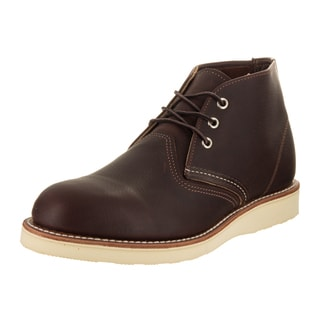 Red Wing Shoes Men's Brown Leather Chukka Boots