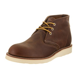 Red Wing Shoes Men's Chukka Brown Leather Boot