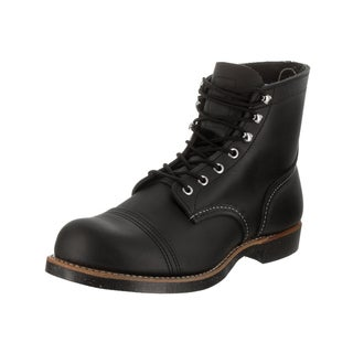 Red Wing Shoes Men's Iron Ranger Black Leather Boot