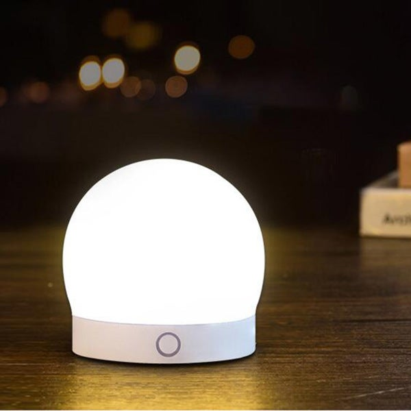 Shop Round Silicone Led Night Light Colorful Home