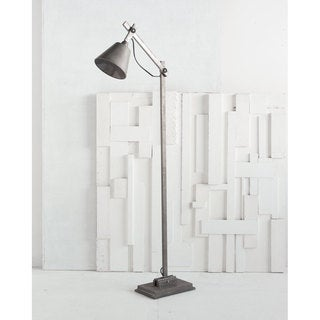 Mercana Azrou Grey Metal Floor Lamp