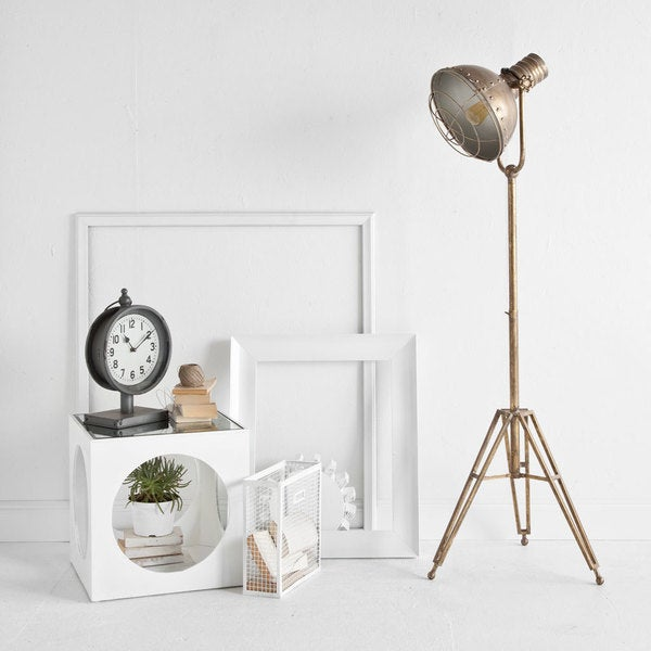 Mercana Carica Gold Metal Floor Lamp