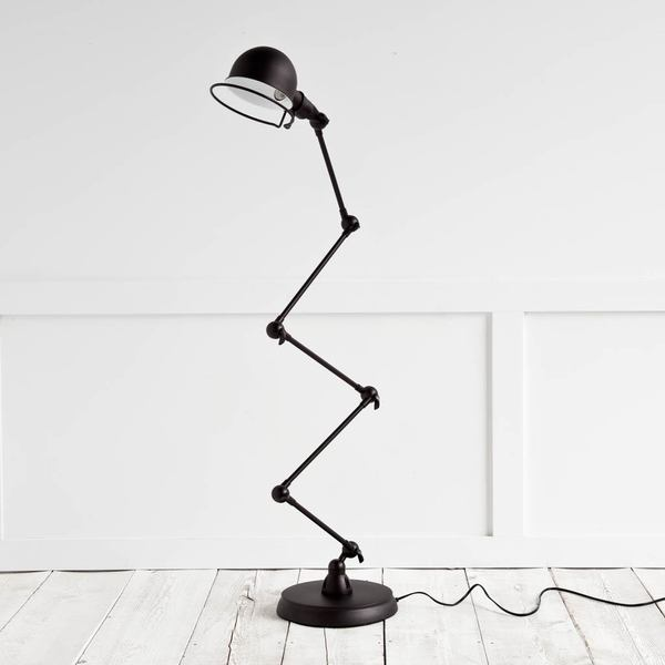 Mercana Dominica Black Metal Floor Lamp
