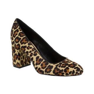 Bella Vita Women's Nara Pump (Leopard Leather)