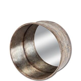 Mercana Fleet Silver Metal Small Mirror