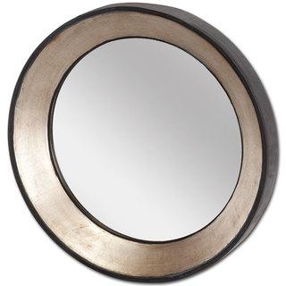 Mercana Ovallas I Gold Wood-framed Wall Mirror
