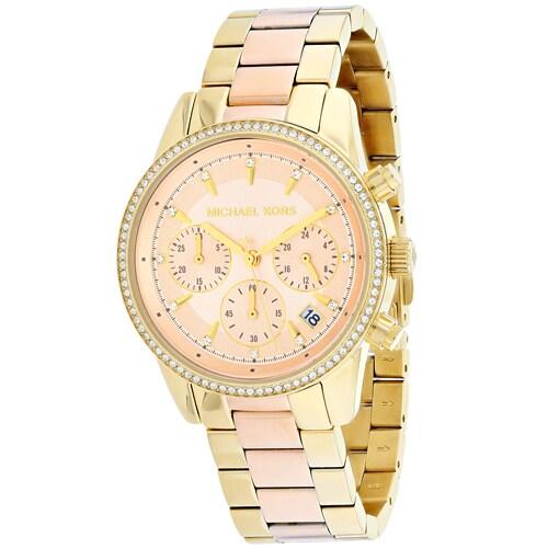 Shop Michael Kors Women s Ritz Watches - Free Shipping Today -  Overstock.com - 16739976 351be43fe2