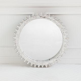 Mercana 'Sundance I' White Mirror