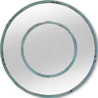 Mercana Blanshard I Blue Metal Mirror