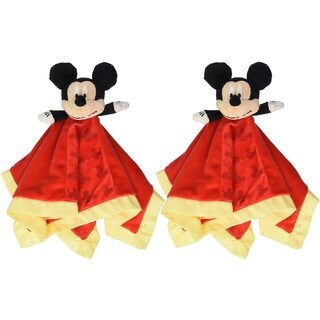 Kids Preferred Disney Mickey Mouse Snuggle Blanky (Pack of 2)