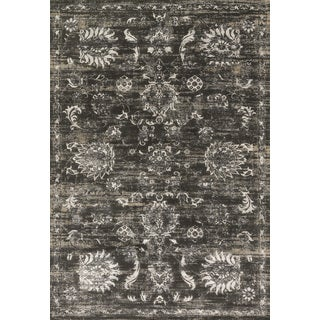 Augustus Charcoal/ Silver Rug (2'7 x 3'9)