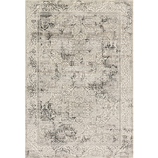 Augustus Ivory/ Grey Rug (3'10 x 5'7)