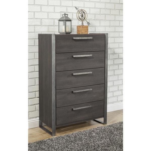 Cheap Furniture Stores Online Free Shipping: Shop Sandberg Furniture Arts District Loft 5-Drawer Chest