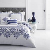Azalea Skye Cora Blue Comforter Bonus Set