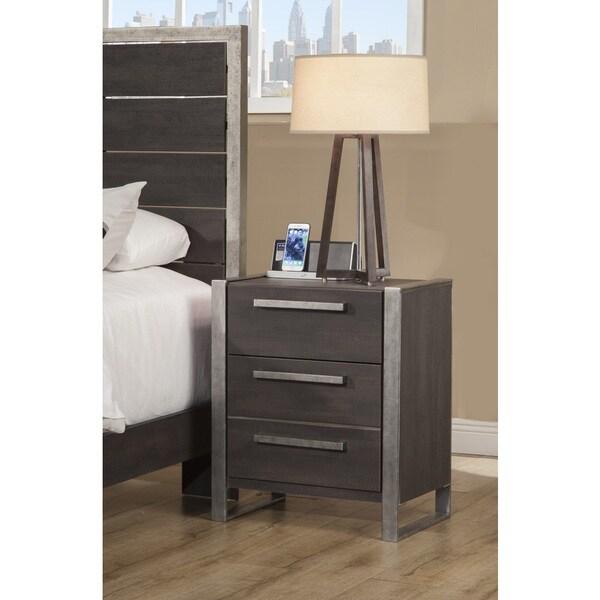 Sandberg Furniture Arts District Loft 2 Drawer Nightstand
