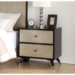 Abbyson Lennon Mid-century 2-drawer Nightstand