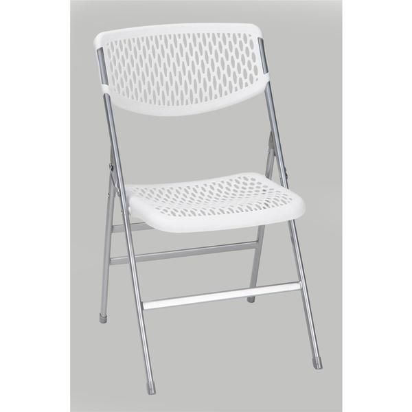 COSCO Commercial Resin Mesh Folding Chair (Set of 4)  sc 1 st  Overstock.com & Shop COSCO Commercial Resin Mesh Folding Chair (Set of 4) - On Sale ...