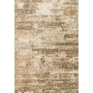 Distressed Antique Beige/ Taupe Vintage Inspired Rug - 12' x 15'