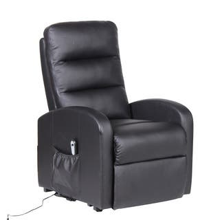 Christopher Knight Home Black PU and PVC Adjustable Lift Recliner With Electric Motor https://ak1.ostkcdn.com/images/products/16740498/P23052391.jpg?impolicy=medium
