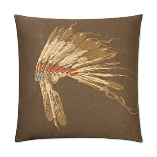 Van Ness Studio W Chief- Woodland Down and Feathered filled 24 inch Decorative Throw Pillow