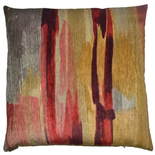 Van Ness Studio A Shambala- Autumn Down and Feathered filled 24 inch Decorative Throw Pillow