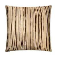 Van Ness Studio 2420 Metallic Stripe Down and Feathered filled 24 inch Decorative Throw Pillow