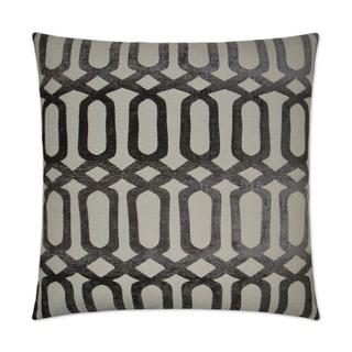 Van Ness Studio 2502-G Nakita- Grey Decorative Throw Pillow