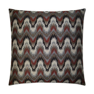 Van Ness Studio  Cascade Down and Feathered filled 24 inch Decorative Throw Pillow