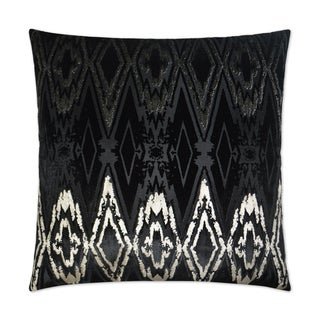 Van Ness Studio  Maximus- Black Down and Feathered filled 24 inch Decorative Throw Pillow
