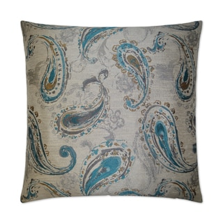 Superieur Van Ness Studio Bancroft  Turquoise Down And Feathered Filled 24 Inch  Decorative Throw Pillow