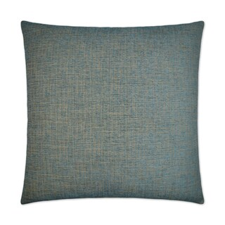 Van Ness Studio Edward- Aqua Down and Feathered filled 24 inch Decorative Throw Pillow