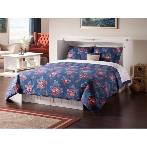 Shop Nantucket Queen Murphy Bed Chest In White
