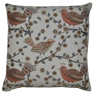 Van Ness Studio Birdie Down and Feathered filled 24 inch Decorative Throw Pillow