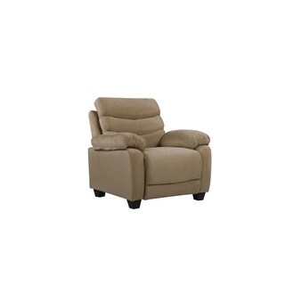 Lyke Home Madeline Microsuede Chair