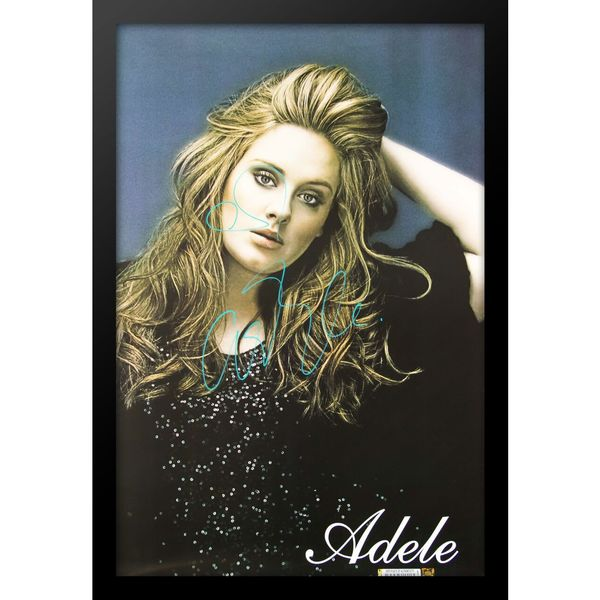 Autographed Adele Poster